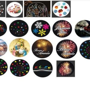 gobo multi-couleurs